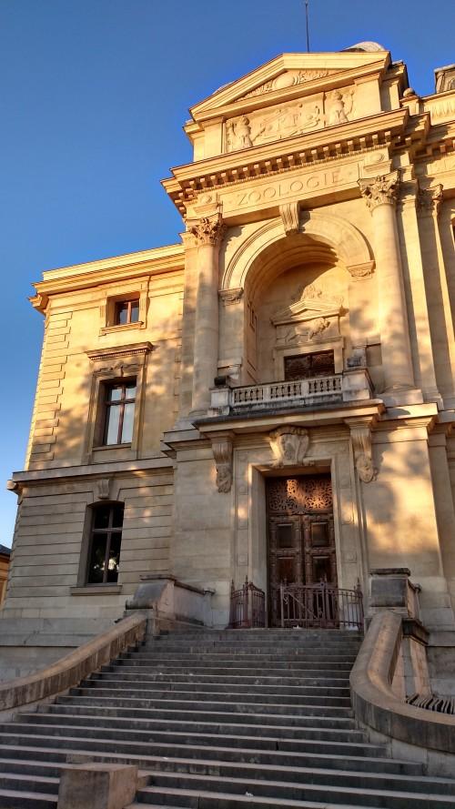 Grande Galerie de l'Évolution á le Muséum national d'Histoire naturelle et le Jardin de l'école de botanique